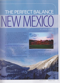 Pathfinders Travel Ski New Mexico article by Annie Tobey, page 2