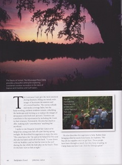 Louisiana Coast article by Annie Tobey in Pathfinders Travel